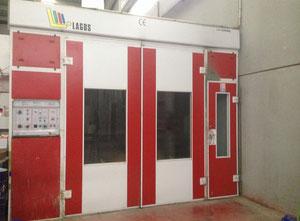 Cabine di verniciatura usate exapro for Cabina di 300 piedi quadrati