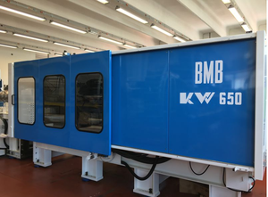 BMB KW650/6500 Injection moulding machine