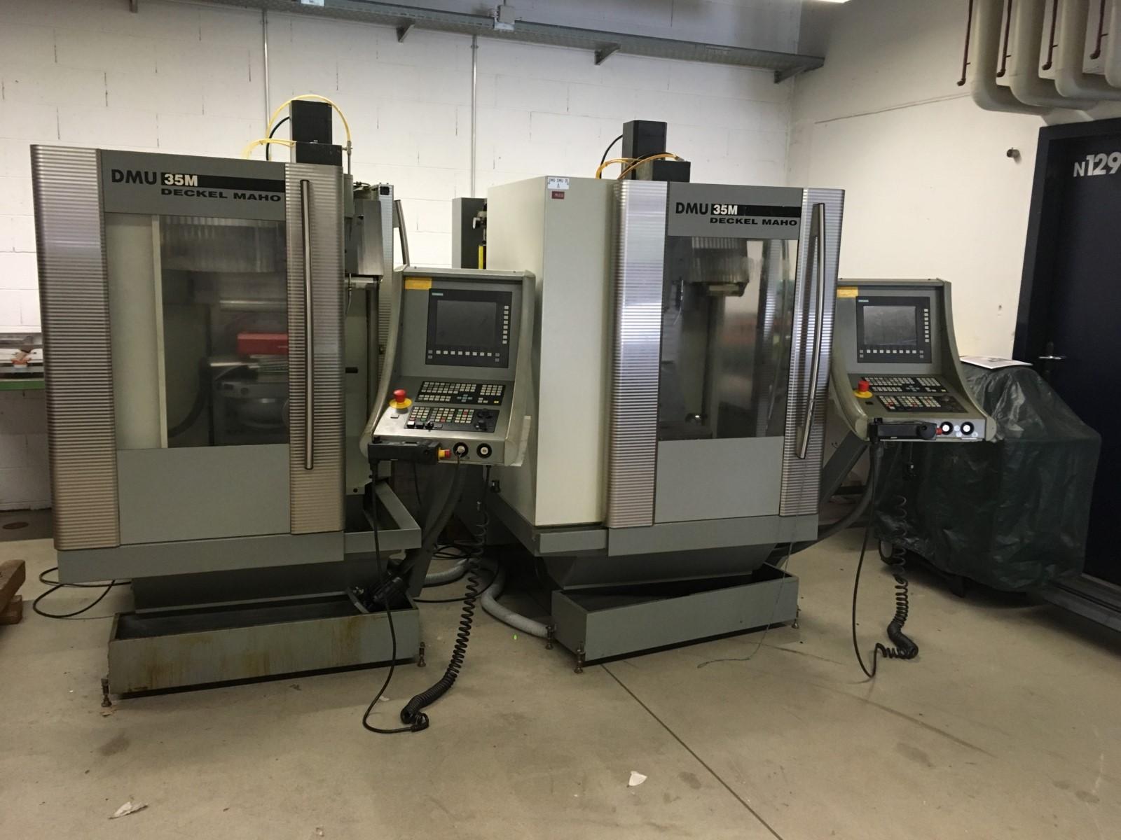 Deckel Maho DMU 35M cnc universal milling machine - Exapro