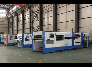 Tangshan Xinlian Printing Machinery Group XLMY1300D Высекальная машина