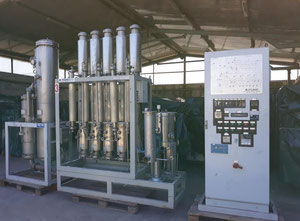 STILMAS  mod.  PHARMASTILL MS 205S + PSG 750 DTS  - Water distiller and pure steam generator used