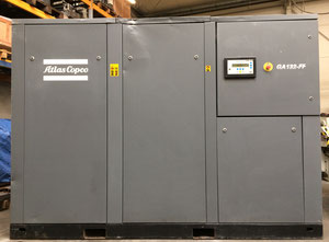 Atlas Copco GA1322FF Oiled screw compressor