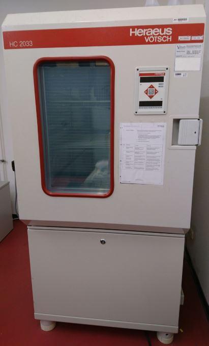 Gebraucht Heraeus Vötsch HC 2033 Klimaschrank Gebrauchte Maschinen ...