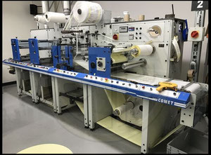 Smag Comet Label printing machine