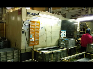 Nissei 460t all electric used injection molding machine in good conditions