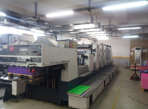 Offset 5 kolorow Komori L540+LX