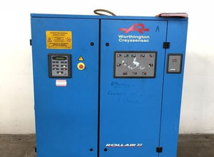 Worthington Creyssensac Rollair 25 RLR 25 AX 8 Piston compressor
