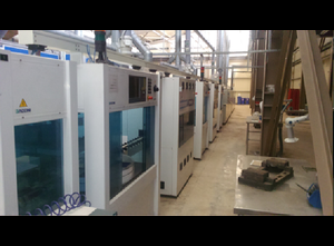 Baccini 3 rotary station printing line Sonstige Artikel