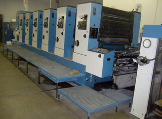 KBA RAPIDA 104-6 Offset Press P80530106