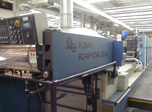 Offset 6 kolorow Kba RAPIDA 104-6 L Offset Press