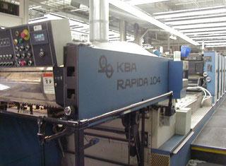 KBA RAPIDA 104-6 L Offset Press P80530109