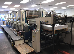 Offset sei colori Komori L640 Offset Press