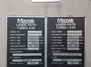 Mazak Turbo X 48 P80530193