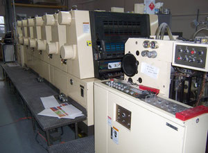 Offset sei colori Akiyama Bestech 628BCL Offset Press