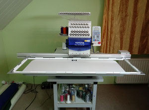 Used Embroidery Equipment For Sale One Head Multi