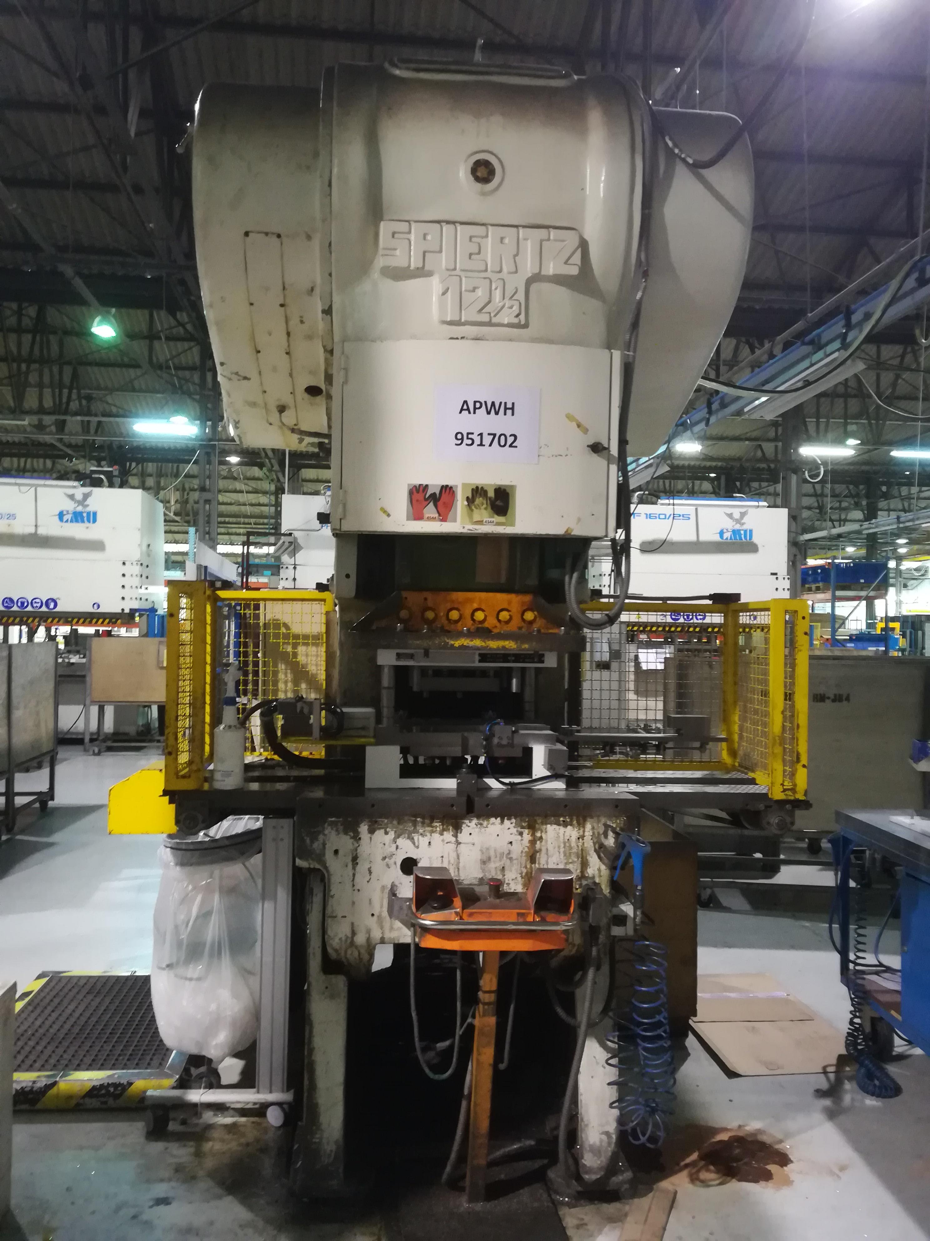 Spiertz 1250T Stamping press - Exapro