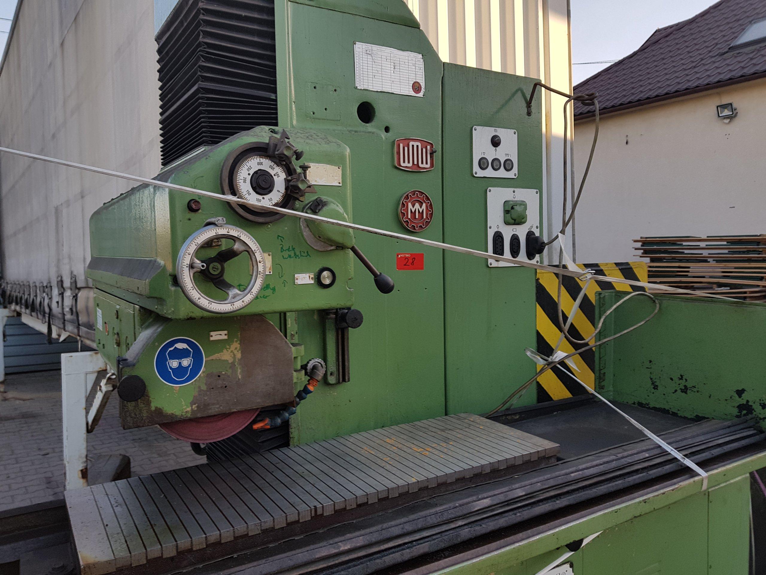 Fantastyczny Szlifierka płaszczyznowa magnesowa 1000x300 Maszyny używane - Exapro BR23