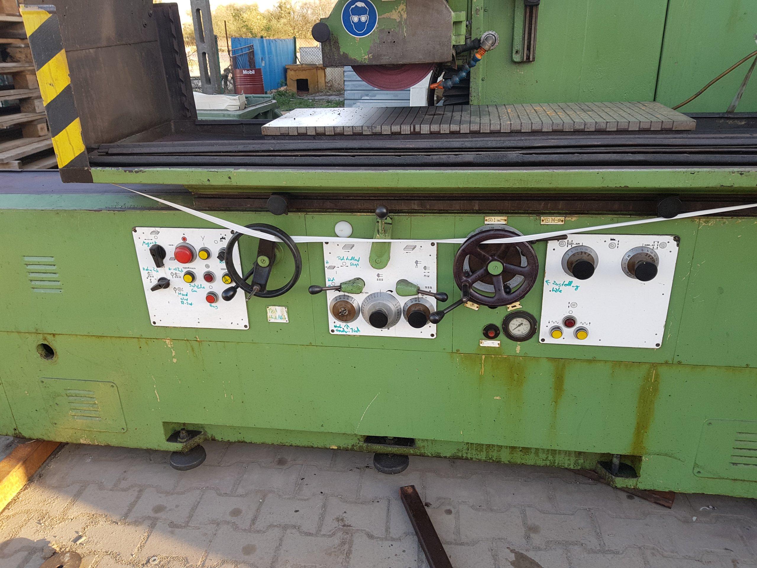 Super Szlifierka płaszczyznowa magnesowa 1000x300 Maszyny używane - Exapro IB07