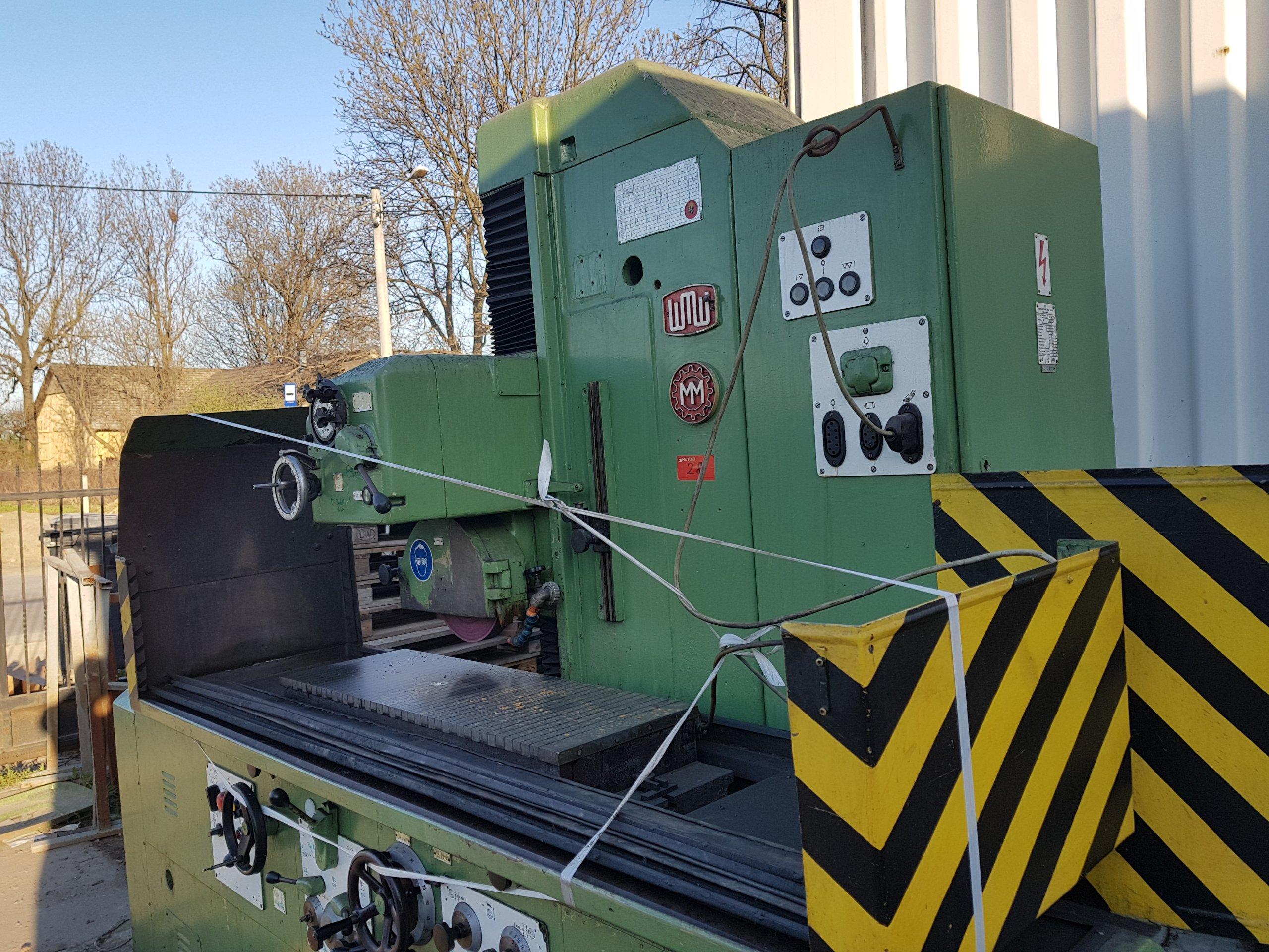 Góra Szlifierka płaszczyznowa magnesowa 1000x300 Maszyny używane - Exapro ER23