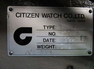 Citizen Cincom L-10 P80607023