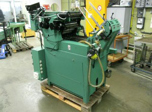 Halm Jet Press JP-TWOD-P Kuvertiermaschine