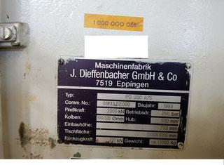 Dieffenbacher PO 200 A/S P80620133