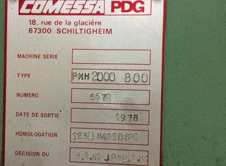 Pdg Comessa PMH 2000-800 P80620178