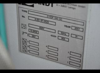 Homag Optimat KDF 540 GC P80622053