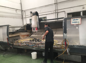 Intermac Master 45 Aperta Glass cutting / edging machine
