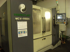 Fraiseuse cnc universelle Perfect Jet MCV - 116A