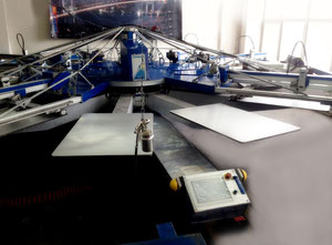 MHM 3000 Textilpresse