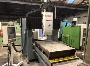 Bergonzi Synthesis X: 2000 - Y: 1100 - Z: 450 mm Portal milling machine