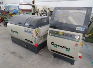 Green Mac It 250 SAI TF 500A Facing and centering machine