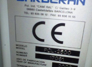 Barberan PCL 20/45-2500 P80627135