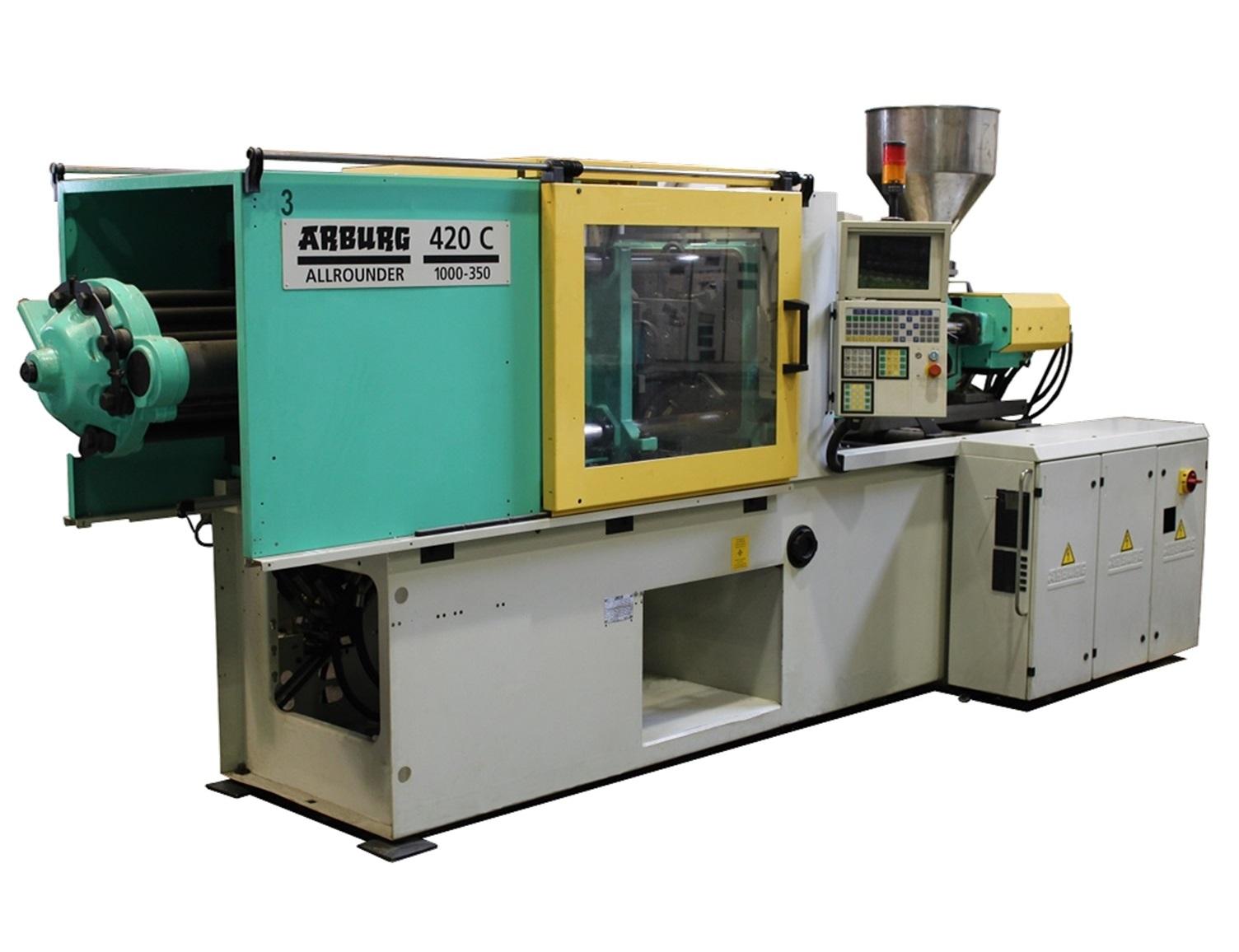 Arburg Allrounder 420 C 1000 350 Injection Moulding