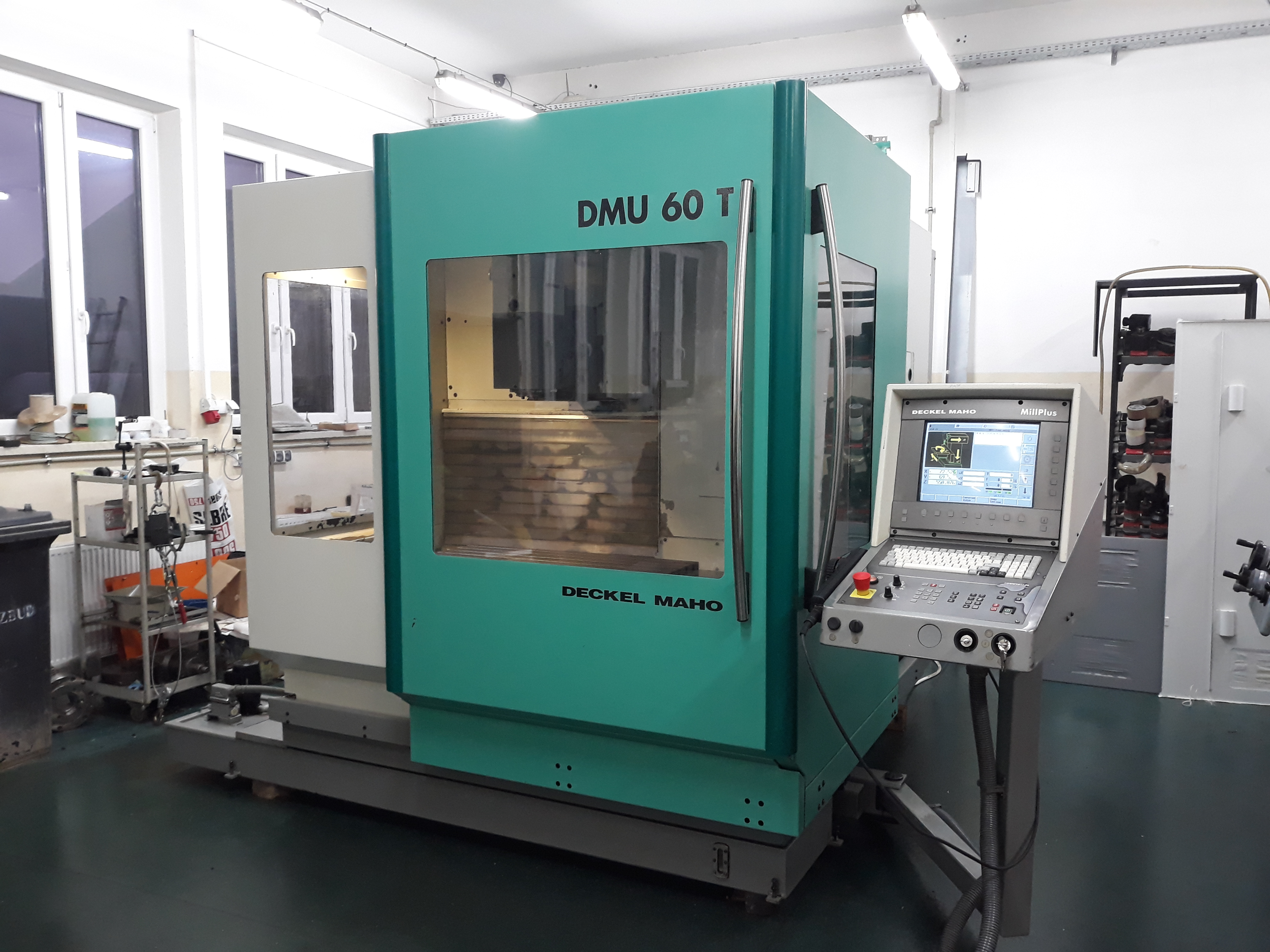 Deckel Maho DMU 60T Machining center - vertical - Exapro