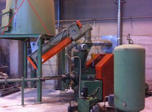 Máquina de briquetas Ascot Ascot 75 a 2 volani