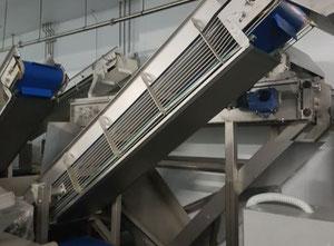 Máquina de corte, lavado y blanqueado de verduras y frutas Eima -