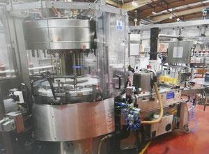 Komplette aseptische ESL-Abfüllanlage  28.600 Flaschen / h -600 ml und 36.000 Flaschen / h -500 ml PET-Flaschen