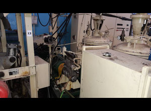Automatic foaming line