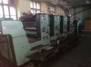 Planeta P 44-6 4 Farben Offsetdruckmaschine