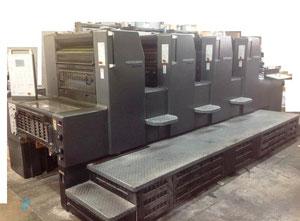 Heidelberg Printmaster PM 74-4 4 Farben Offsetdruckmaschine