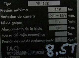 TACI ARRASATE PR. 125 P80719058
