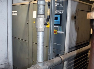 ATLAS COPCO GA75 Piston compressor