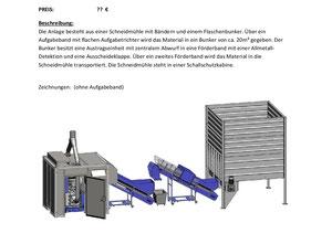 Nuga - Stadler CentriCut 44sr Schneidmühle für PET