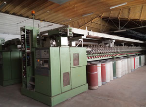 Línea textil completa Schlafhorst/ Trutzschler Autocoro/Trutzschler