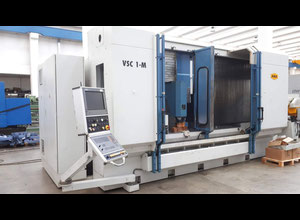 Axa VSC1-M vertical machining center, traveling column