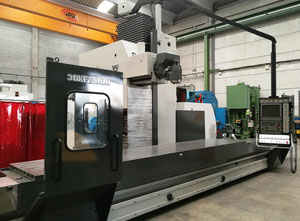 Zayer 30 KF 5000 cnc horizontal milling machine