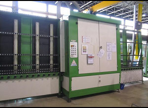 A. Lattuada OT 1600 Glass washing / coating and printing machine