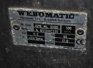 Línea de moldeo, llenado y sellado Webomatic APS ML 3300